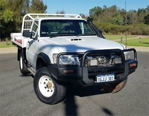 2011 Nissan Patrol GU MY08 DX (4x4) White 5 Speed Manual Coil Cab Chassis