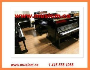 Yamaha Kawai and Other Brand Japanese Piano Promotion www.musicm.ca Instruments With Warranty comes with Delivery Tuning