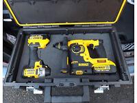 Dewalt 18V Li-ion SDS+ drill & Impact Driver For Nikon DSLR Setup