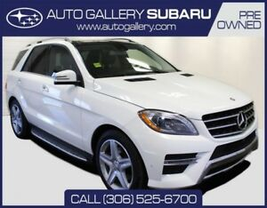 2014 Mercedes-Benz M-Class ML 350 BLUE TEC DIESEL | LUXURY SUV |
