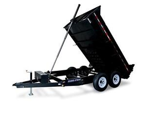 7X12 Telescopic 14K Dump Trailer