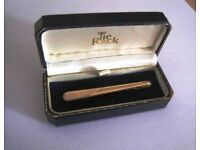 NEW - MEN'S GOLD TIE CLIP