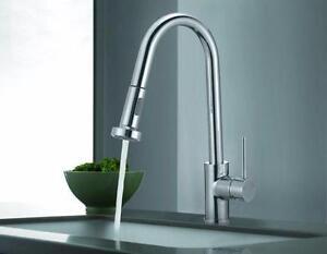 New kitchen faucets / Robinets de cuisines neufs
