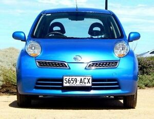 2009 Nissan Micra K12 Blue 4 Speed Automatic Hatchback Christies Beach Morphett Vale Area Preview