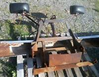 Trade a complete plow/harness/pump or cash sale