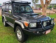 2010 Toyota Landcruiser VDJ76R MY10 GXL Grey 5 Speed Manual Wagon Berrimah Darwin City Preview