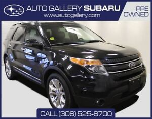 2013 Ford Explorer LIMITED   2ND ROW BUCKET SEATS   TWO TONE INT