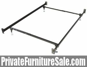 Metal Bed Frame for headboard and footboard, Single/Double/Queen