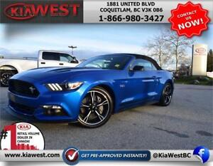 2017 Ford Mustang GT California Special 5.0L V8 RWD Convertible
