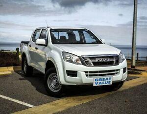 2012 Isuzu D-MAX MY11 SX White 4 Speed Automatic Utility Christies Beach Morphett Vale Area Preview