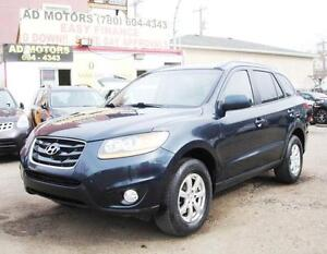 SALE! 2010 HYUNDAI SANTA FE 4X4 REMOTE START AUTO 100% FINANCING