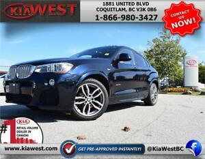 2016 BMW X4 xDrive35i AWD 3.0L