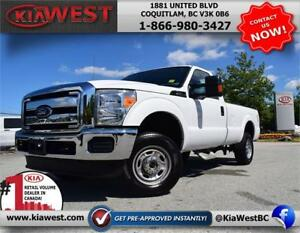 2016 Ford F250 Super Duty Reg Cab 4X4 V8