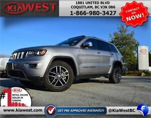 2018 Jeep Grand Cherokee Limited 3.6L 4WD V6