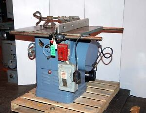 Delta 10 inch table saw inv 10074 ebay for 10 delta table saw price