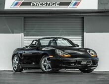 2001 Porsche Boxster 986 Black 5 Speed Manual Roadster Albion Brisbane North East Preview