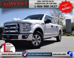 2015 Ford F150 XLT SuperCrew Cab V6 4X4