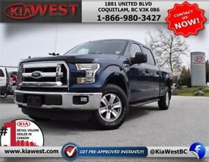 2016 Ford F150 XLT Supercrew Cab V8 4X4