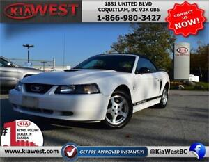 2002 Ford Mustang 3.8L V6 Convertible