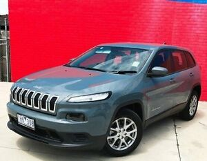 2016 Jeep Cherokee KL MY16 Sport Silver 9 Speed Sports Automatic Wagon Pakenham Cardinia Area Preview