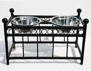 Pet Bowls Dog Feeder Bowl risers decorative Brand New Cambridge Kitchener Area image 2