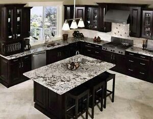 Granite Fantasy Brown @ QuebecKitchens.ca, Happy Customer West Island Greater Montréal image 5