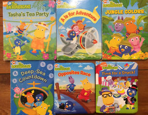 BACKYARDIGANS board books $3 each or all 6 for $10
