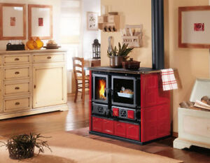 Wood Burning Cook Stoves from Italy, Best Selection in Canada!
