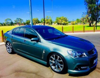 2014 Holden Commodore VF SS-V Grey 6 Speed Manual Sedan