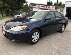 2004 Toyota Camry Certified/LE/Automatic/4Cylinder Gas Saver