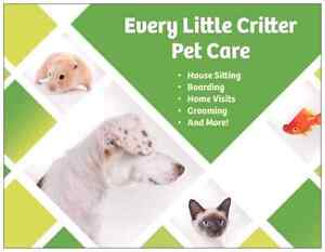 Every Little Critter Pet Care - House Sitting Services