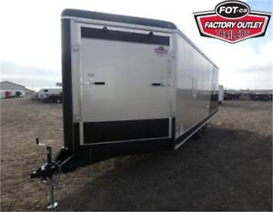 8.5 X 26 **INSULATED** DRIVE-ON/DRIVE-OFF SLED TRAILER *TAX IN*