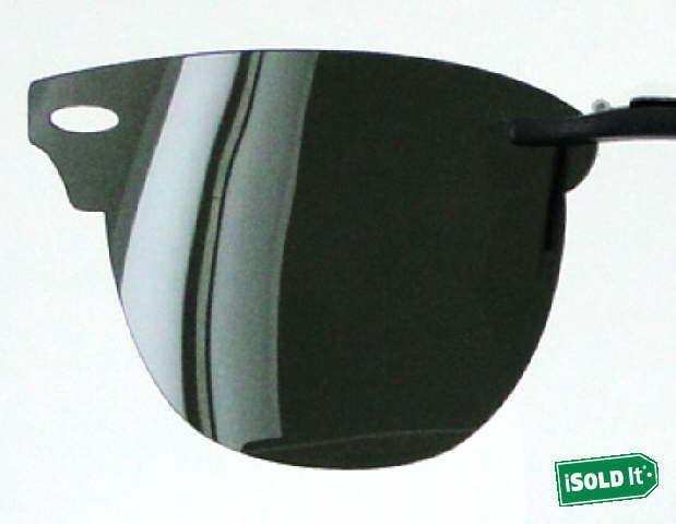 5ab7ead732e78e Custom Fit Polarized CLIP-ON Sunglasses For RAY-BAN RB6335 54x17-T ...