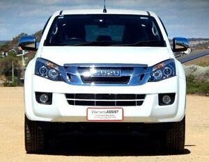2015 Isuzu D-MAX MY15 LS-U Crew Cab White 5 Speed Sports Automatic Utility Christies Beach Morphett Vale Area Preview
