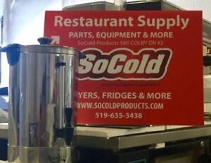 USED !Avantco 55 Cup (1.9 Gallon) Stainless Steel Coffee Urn *RESTAURANT EQUIPMENT PARTS SMALLWARES HOODS AND MORE*