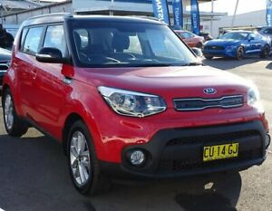 2018 Kia Soul PS MY19 SI Red 6 Speed Sports Automatic Hatchback Albion Park Rail Shellharbour Area Preview