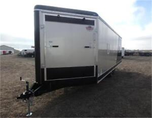 SUPER SALE! 8.5 X 26 ENCLOSED SLED TRAILER -*- INSULATED -*-