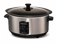 Morphy Richards 48710 - Slow cooker - 3.5 litres - 170 W - stainless steel