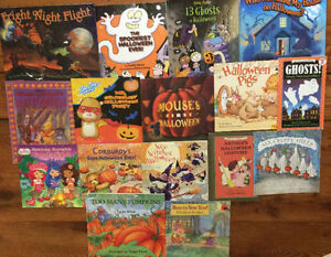 HALLOWEEN children's picture books $2 each or all 16 for $20