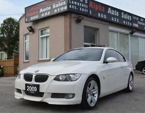 2009 BMW 3 Series 335i xDrive MANUAL NO ACCIDENTS NAV CERTIFIED!