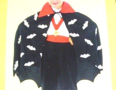 pir Dracula Faschingskostüm Kind Kinder Umhang Neuware (Dracula Kostüm Kind)
