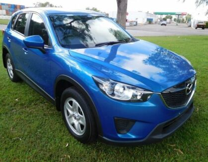 2013 Mazda CX-5 KE1071 MY13 Maxx SKYACTIV-Drive Sport Blue 6 Speed Sports Automatic Wagon