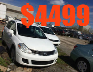 Nissan versa 2012 Accdent free  ( 2 AVAILABLE)     UBER WELCOME