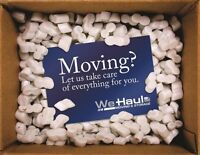 We Haul last minute movers and delivery services