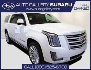 2017 Cadillac Escalade ESV PLATINUM | MESSAGING SEATS | SUADE RO
