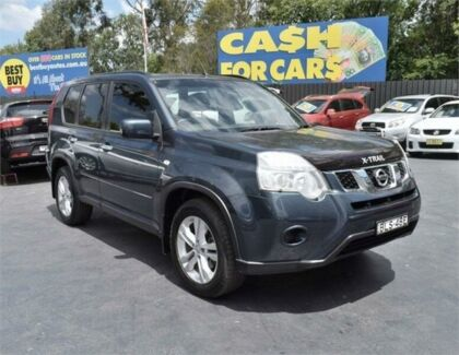 2012 Nissan X-Trail T31 Series IV ST Blue Constant Variable Wagon Campbelltown Campbelltown Area Preview