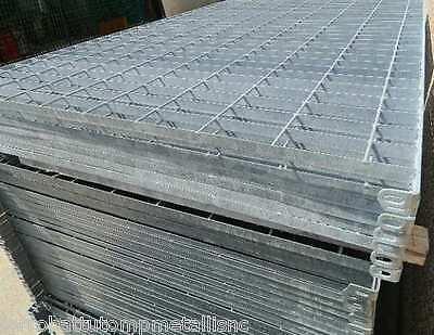 pannello recinzione giardino parapetto in ferro grigliato zincato per esterno
