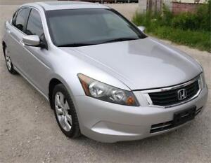 2008 HONDA ACCORD EX SEDAN SAFETIED FOR $6950+HST TAX!!!
