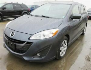 ONE OWNER/ACTIVE STATUS!  2012 MAZDA MAZDA5 GT AUTO 6 SEATS LOAD