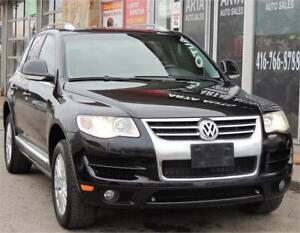 2010 Volkswagen Touareg Comfortline*LEATHER*SUNROOF*AWD